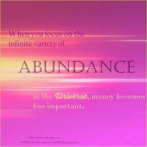 abundance in the Universe