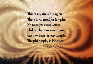Wisdom from the Dalai Lama