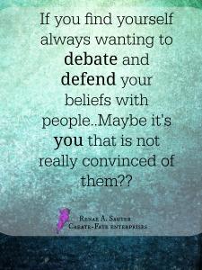 Defend and debate beliefs 2015